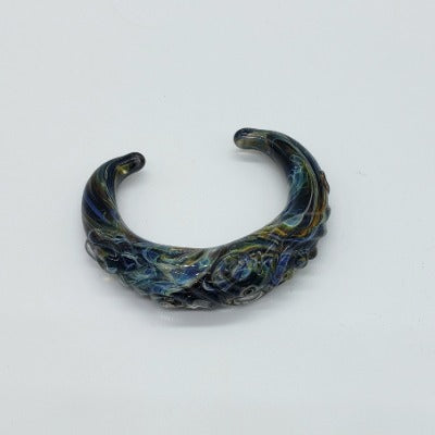 Handblown Glass Cuff Bracelet