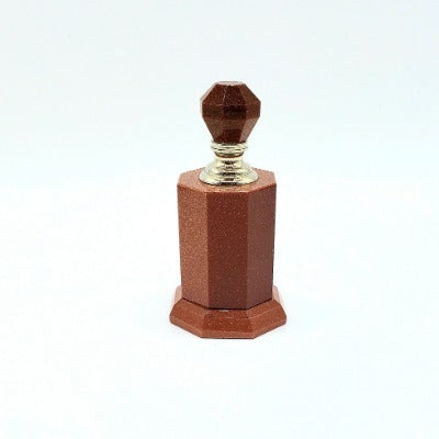 Large Goldstone Perfume/Essential Oil Bottle