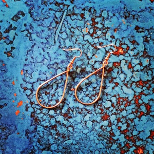 Copper Wire Earrings