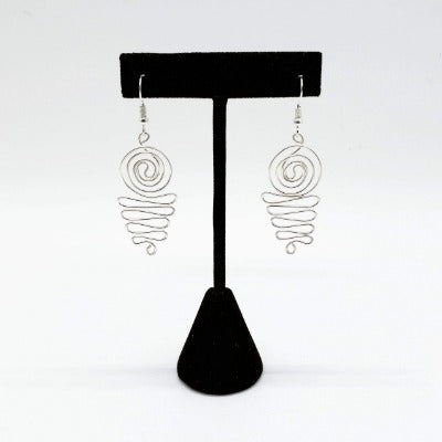 Goddess Vibes Silver Earrings