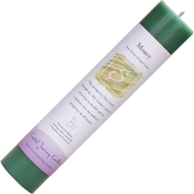 Reiki Herbal Pillar Candle