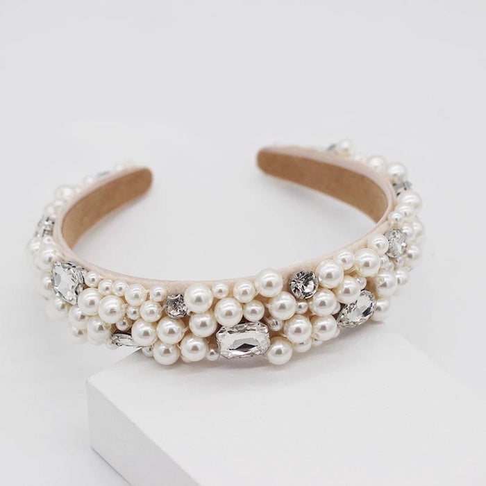 Pearl & Jewel Hair Band