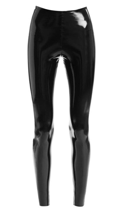 Faux Patent Leggings