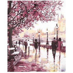 Spring walk (Painting by Numbers)