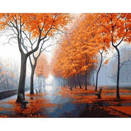 Mild autumn day (Painting by Numbers)