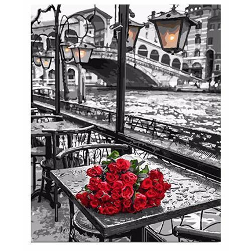 Roses in Venice (Painting by Numbers)