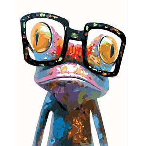 The crazy frog (Painting by Numbers)
