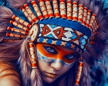 Indianer (Painting by Numbers)