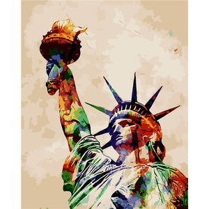 The Statue of Liberty (Painting by Numbers)