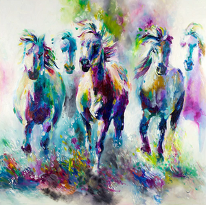 Herd of horses (Painting by Numbers)