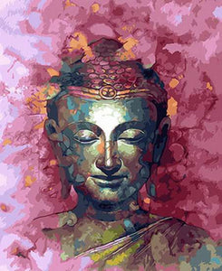 The buddha (Painting by Numbers)