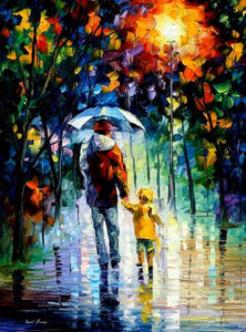 Father and son (Painting by Numbers)