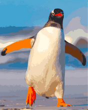The Penguin (Painting by Numbers)