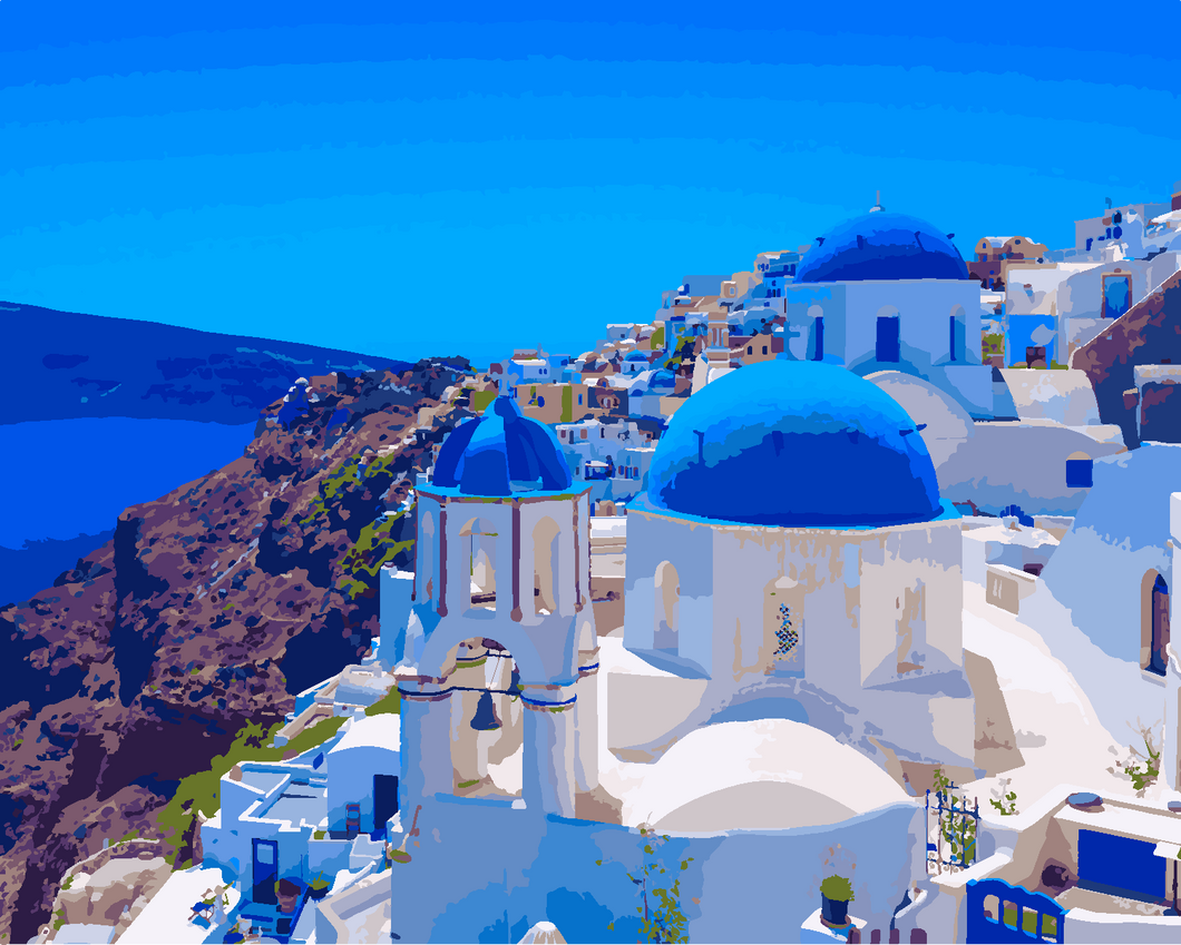 Mykonos (Painting by Numbers)