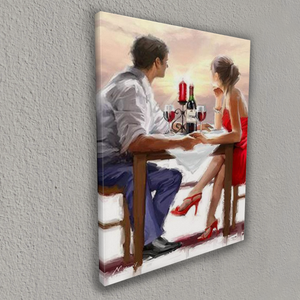 The first date (Painting by Numbers)