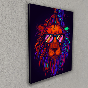 The hipster lion (Painting by Numbers)