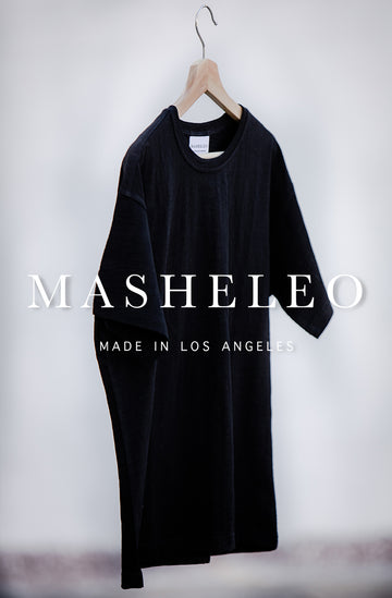 Black Plain Thick T-shirts - MASHELEO