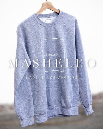 Basic Grey Sweatshirt - MASHELEO