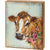 Cow Floral Box Sign