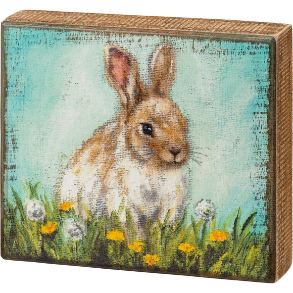 Bunny Box Sign