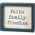 Faith Family Freedom Inset Box Sign