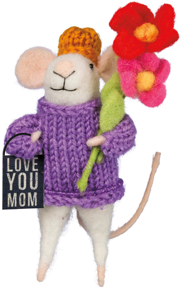 Love You Mom Mouse Critter