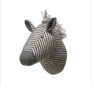 Wool Zebra Wall Mount