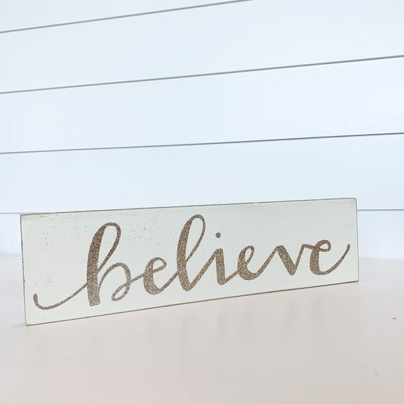 Sign - Believe