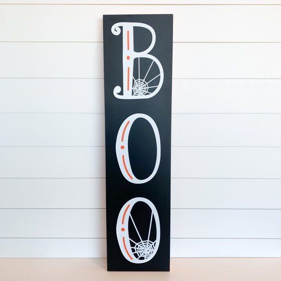 Porch Boo Halloween Sign