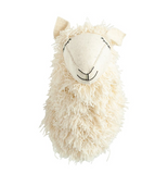 Wool & Felt Llama Head Wall Decor