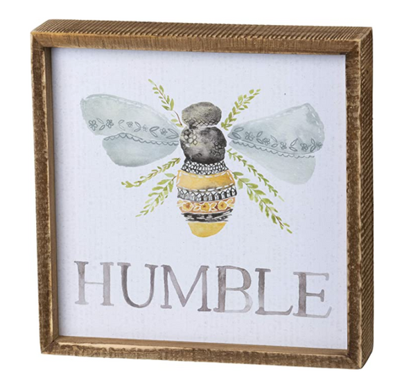 Inset Box Sign - Humble