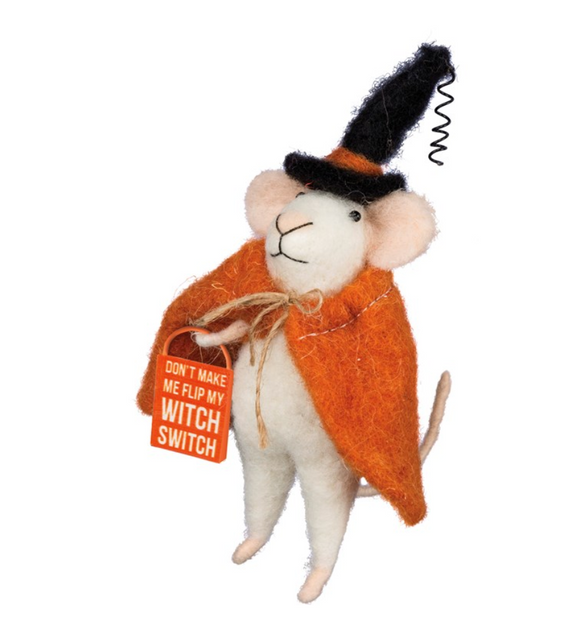 Orange Witch Switch Mouse