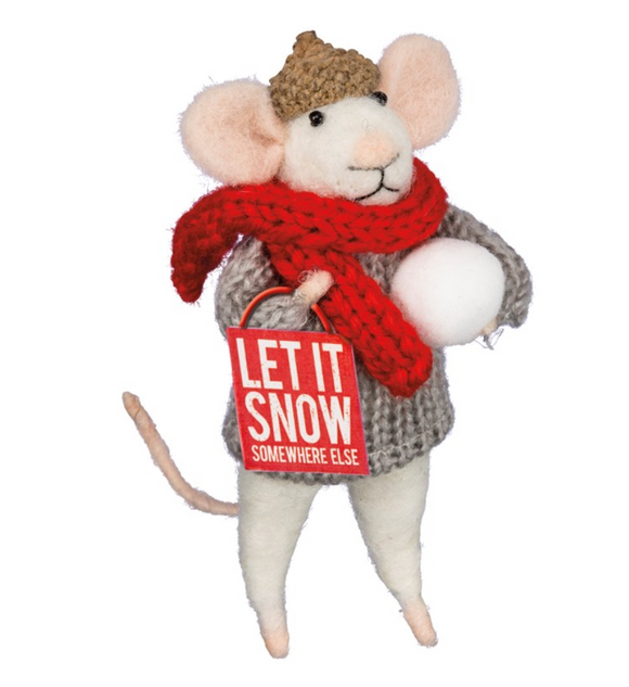 Let It Snow Mouse