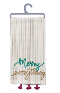 Merry Everything Dish Towels