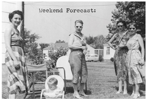 Greeting Card - Forecast