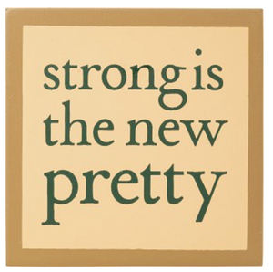 Block Magnet - Strong Is The New Pretty