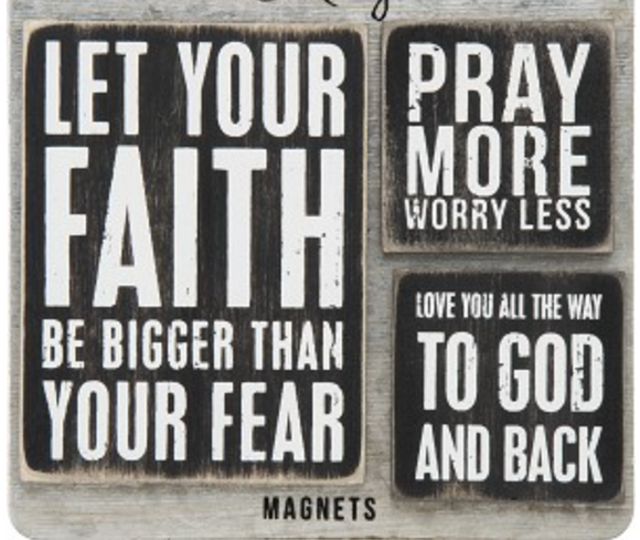 Magnet Set - Faith