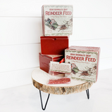 Reindeer Feed Box With Magical Reindeer Feed