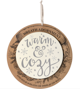 Warm & Cozy Wreath Insert