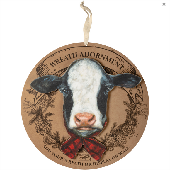 Cow Wreath Insert