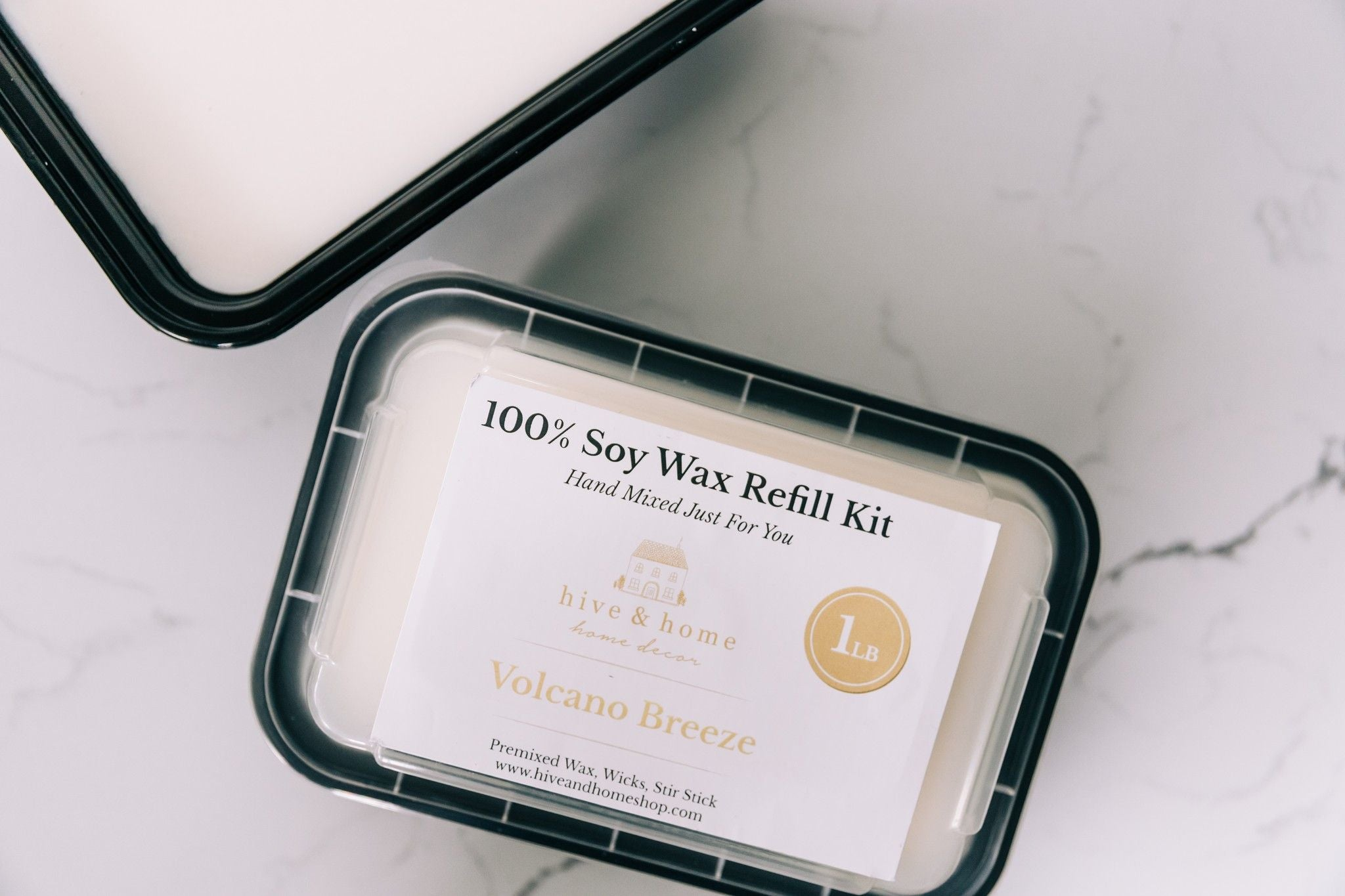 100% Soy Wax Refill Kit 2 Sizes