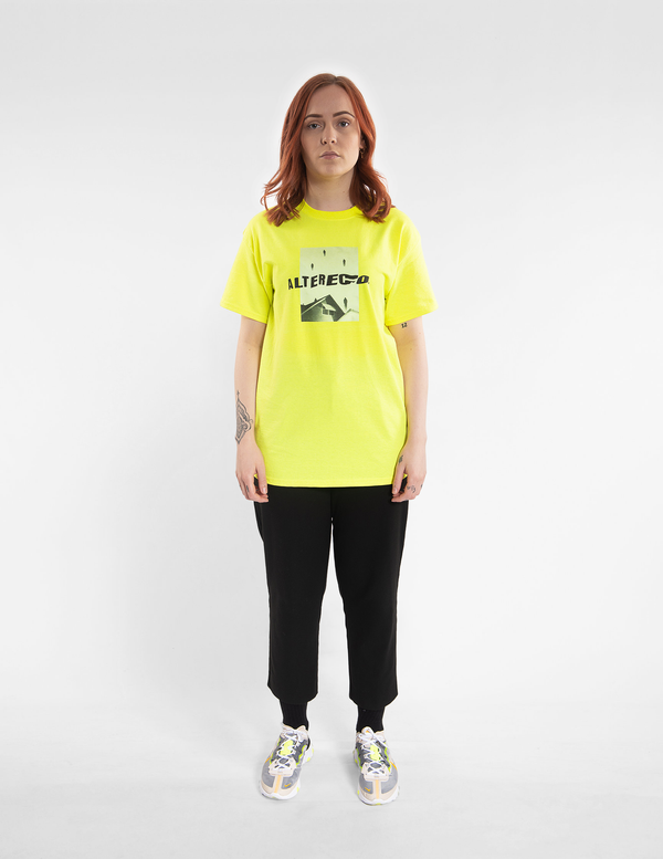 Neon Yellow Oversized T-Shirt