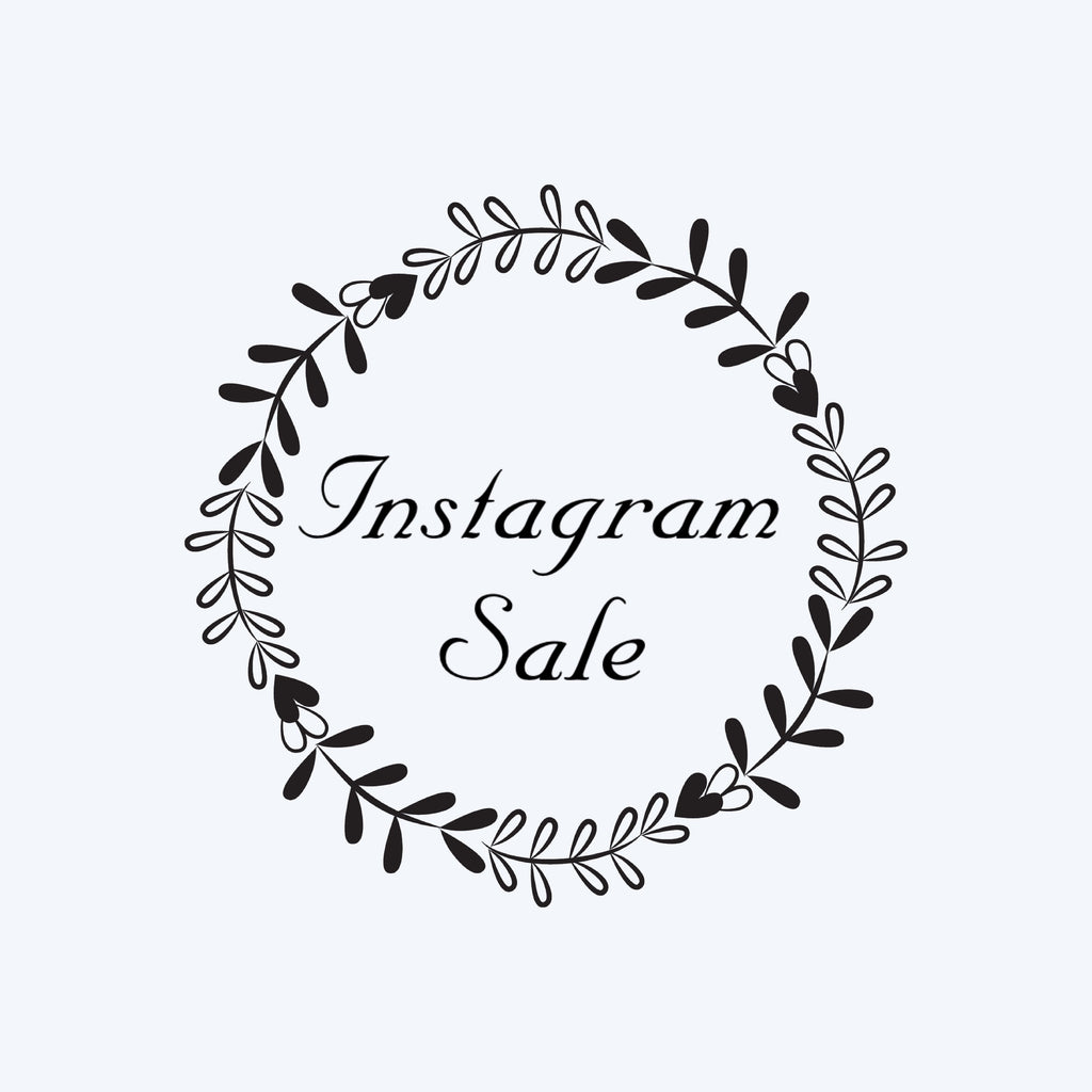 Instagram Sale for @mickaylabutter
