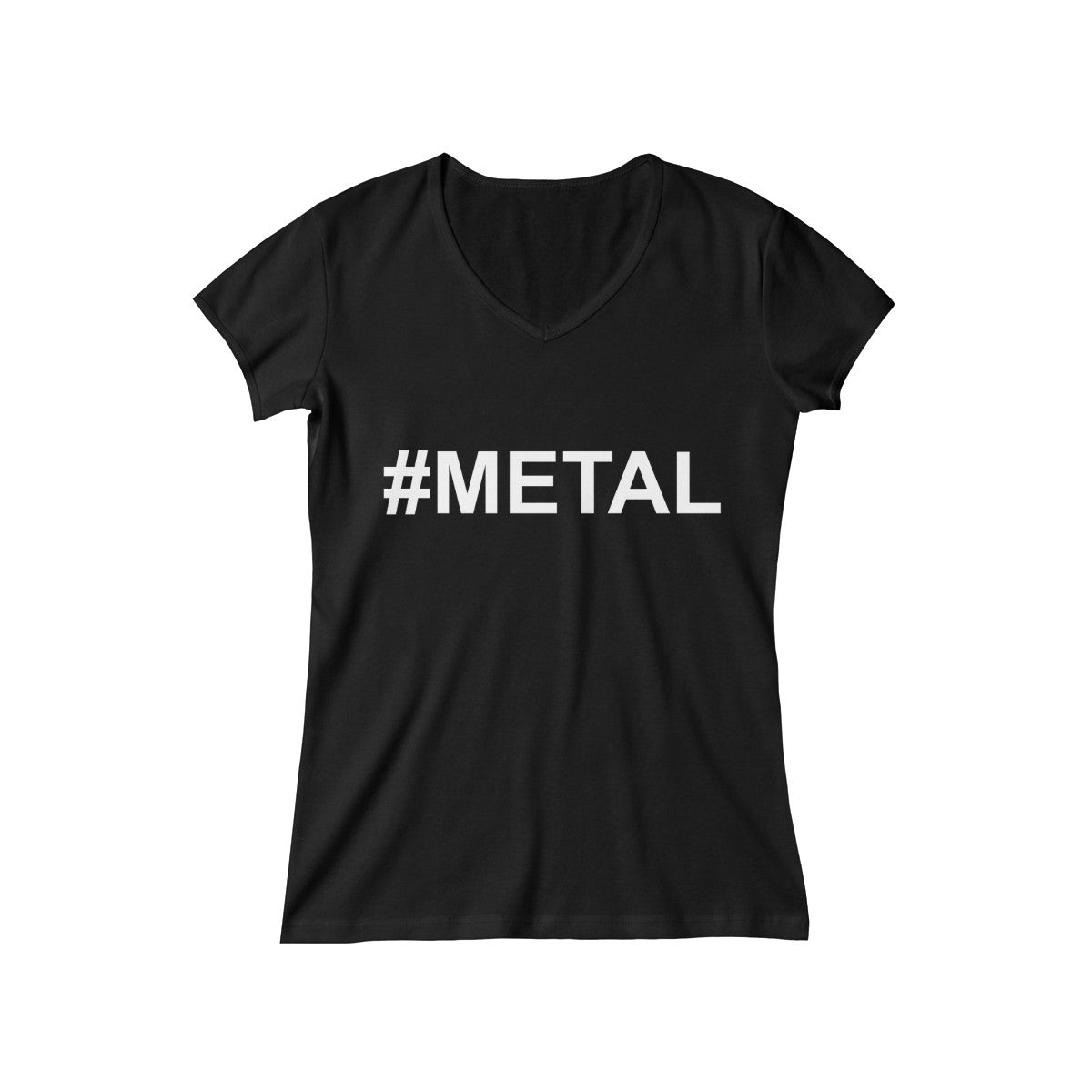 Women's #METAL V-Neck Tee