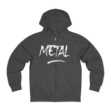 Load image into Gallery viewer, Zip Hoodie 'Metal""