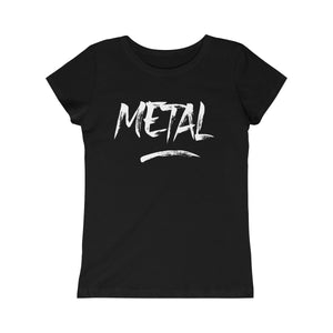 "Girls ""Metal"" Princess Tee"