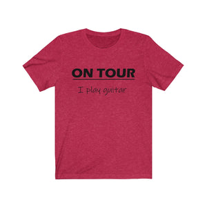 "Guitarist Tee ""On Tour"""