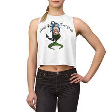 Load image into Gallery viewer, Metalcore Mermaid Crop top