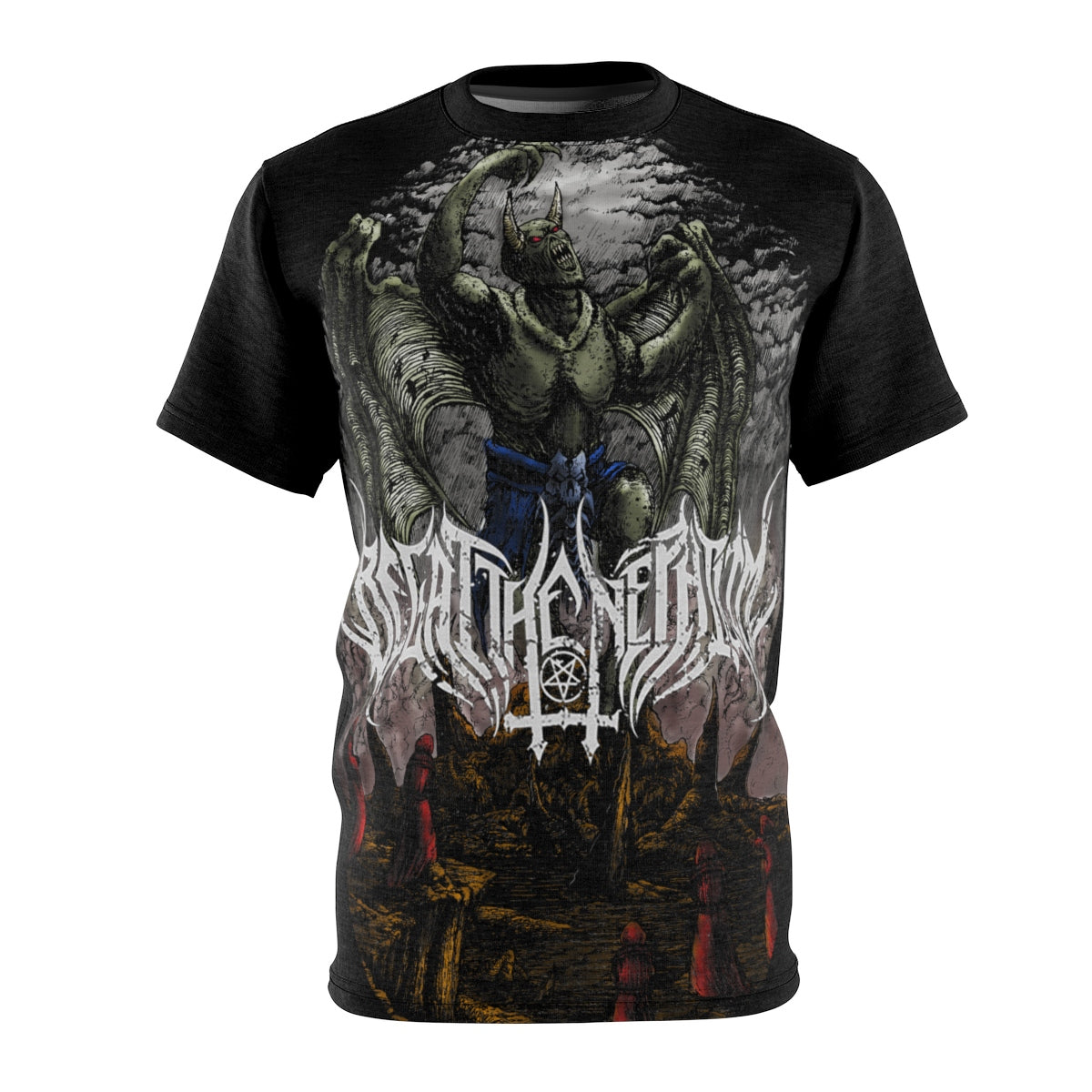 Begat the Nephilim Full Size Print Tee