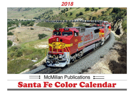 McMillan Publications, Inc. — 2018 SANTA FE COLOR CALENDAR